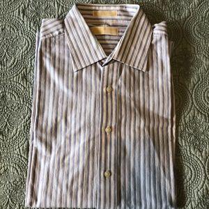 Michael Kors Men's Button Down Dress Shirt